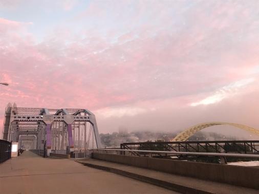 October morning, Newport, KY